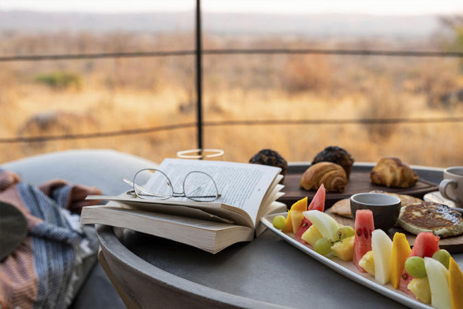 Breakfast with a View at at Jabali Ridge Lodge