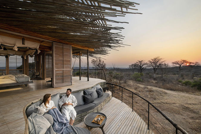 Private Deck at Jabali Ridge Lodge